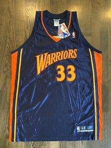 New NWT Authentic Reebok ANTAWN JAMISON #33 Golden State Warriors Jersey XL 48