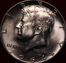 Uncirculated 1964-D Denver Mint Silver Kennedy Half