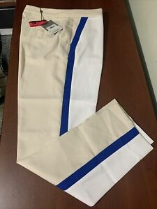 G4 G/Fore Color Block Sno Stone Blue Trousers Ladies size 4 6 8 Golf Pants NEW
