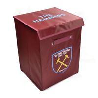 West Ham United Stoff Aufbewahrungsschachtel Fußball Schlafzimmer Kinder