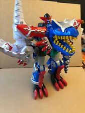 Power rangers Deluxe Dino thunder Blizzard megazord - hard to find toy