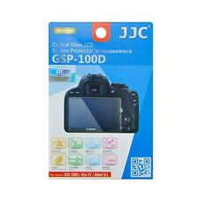 JJC GSP-100D Ultra Thin Optical Glass LCD Screen Protector for Canon EOS 100D