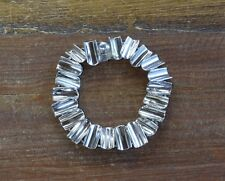 Vintage Sterling Silver Mexican Modernist Link Bracelet
