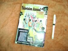 Television annual 1957 hardback 160 pages dust-cover many stars goonshow etc