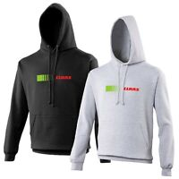 Claas Hoodie VARIOUS SIZES & COLOURS Tractor Farming Enthusiast
