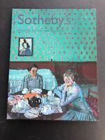 Sotheby's Auction Catalog 2002 London MODERN BRITISH AND IRISH ART