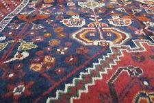Authentic Wool Rnrn-134 6'4'' x 9'3'' Persian Sheraz Rug