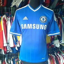 CHELSEA 2013 HOME FOOTBALL SHIRT ADIDAS JERSEY SIZE ADULT S