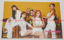 MAMAMOO Decalcomanie Post Card Limited Edition Japan