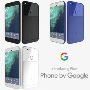 "Brand New Google Pixel XL 5.5"" At&t T-Mob Verizon Smartphone/Very Silver/128GB"