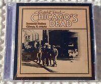 2 CD Grateful Dead live Rosemont Chicago IL 4/13/88 rare show NM Road Trips 1988