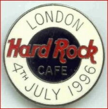 Hard Rock Cafe LONDON 1996 July 4th PIN F.C. Parry Round HRC Logo Catalog #4939