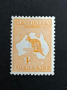 Kangaroo First Watermark 4d Orange ACSC 15A MUH (932)
