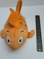 "Kohls Cares 16"" The Fish With The Deep Sea Smile Plush Gold Fish"