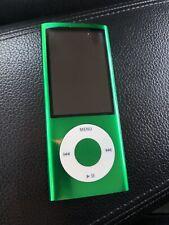 Apple iPod Nano 8 Gb Green Model A1320 Mc040Ll Tested Works Great