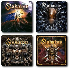Sabaton 4 Piece Coaster Sets