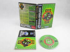 Sega Saturn Worldwide Soccer 97 Complete PAL