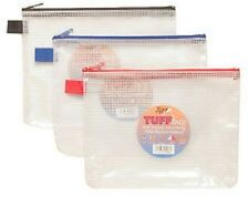 TIGER A5 TUFF BAGS- Heavy Duty Strong Water Resistant Storage Zip Wallet Case
