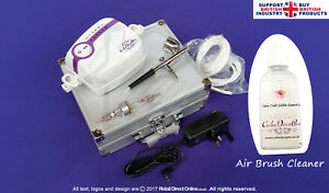 AirBrush Kit Machine for Cake Decorating Craft   Air Filter + Large Cup