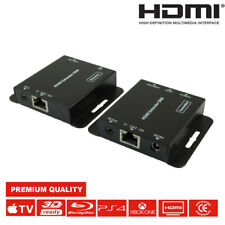 NEW SC-55 4K HDR PoE UHD HDMI 2.0 Over Single CAT Extender 70m +  IR 3D Control