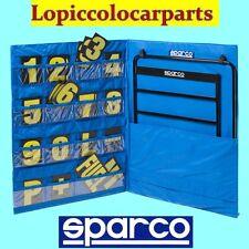 SPARCO 00594 TABELLA BOX COMPLETA (TELAIO+NUMERI+COVER) PIT SIGNAL KIT