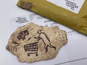 BANKSY PECKHAM ROCK BRITISH MUSEUM PRINT GROSS DOMESTIC PRODUCT ART KAWS