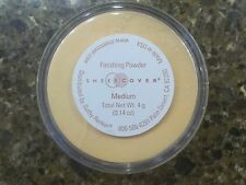 NEW Sheer Cover MEDIUM FINISHING POWDER ~ 4g ~ FACTORY SEALED ~ 4 grams/.14 oz.