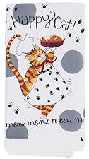 NEW - Kay Dee Designs Happy Cat Kitchen Flour Sack Towel