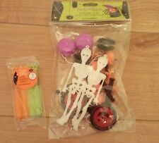 Bumper Pack of Spooky Party Bag Fillers and Mini Bubble Wands