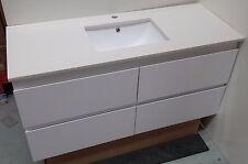 Bathroom Vanity in white stone 1800 mm [single basin]