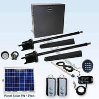 Apollo 1650 ETL Swing Gate Opener Kit 6 Automatic Residential Solar Operator Kit