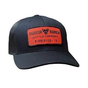 DALE BRISBY CATTLE COMPANY PATCH BLACK - HATS CAP - C-154