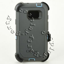 Otterbox Defender Samsung Galaxy S7 Active Case w/Holster WHETSTONE BLUE / GREY