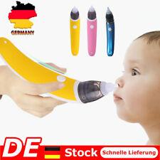 Elektrischer Nasensauger Baby Nase Snot Reiniger Sauger Schleim Aspirator DE