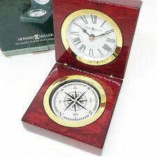 Howard Miller Pursuit Hinged Desk Clock & Compass Table 645-730 Minnesota Seal