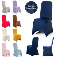 Dining Seat Chair Covers Spandex Slip Banquet Home Protective Stretch Covers UK