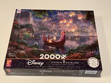 NEW - DISNEY THOMAS KINKADE CEACO - TANGLED RAPUNZEL - 2000 PIECE JIGSAW PUZZLE