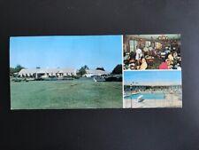 Vintage oversize postcard KING'S COURT MOTEL Marmora NJ near Ocean City