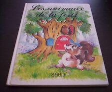 LES ANIMAUX DE LA FORET libro en francese niños Ediciones SAEP