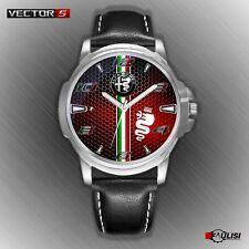 Orologio da polso Alfa Romeo Carbon passion italian desing biscione rosso mito Q