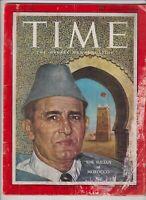 Time Magazine The Sultan Muhammad V Of Morocco April 22, 1957 111919nonr