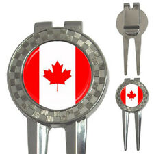 New Canada Flag for 3-in-1 Golf Divot free shipping