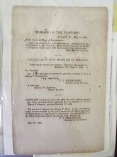 1864 - Confederate imprint - C.W. - Jefferson Davis Government funding