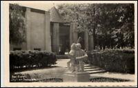 BAD ELSTER 1942 Idyll am Badeplatz Denkmal Musikanten Postkarte, Postcard