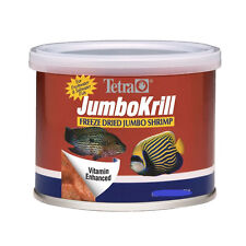 TETRA JUMBO KRILL FREEZE DRIED 1.4 OZ FISH FOOD JUMBO SHRIMP. IN USA