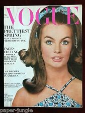Vogue Magazine ~ February 15, 1968 ~ Jean Shrimpton Veruschka Art Kane
