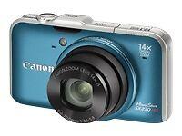 Canon PowerShot SX230 HS 12.1MP Digital Camera - Blue