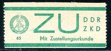 DDR DIENST 1965 ZU1 ** POSTFRISCH TADELOS 300€(E1311