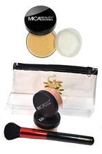 Mica Beauty Foundation2x MF5 Cappuccino 9gr +Powder Brush+Travel Cosmetic Bag