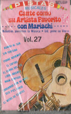 CANTE COMO SU ARTISTA FAVORITO COM MARIACHI (CONTIENE LETRA) NEW-SEALED CASSETTE